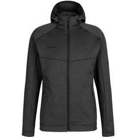 Mammut Nair ML Hooded Jacket Men, black mélange